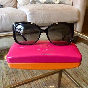 Kate Spade Black and Tortoise Sunglasses